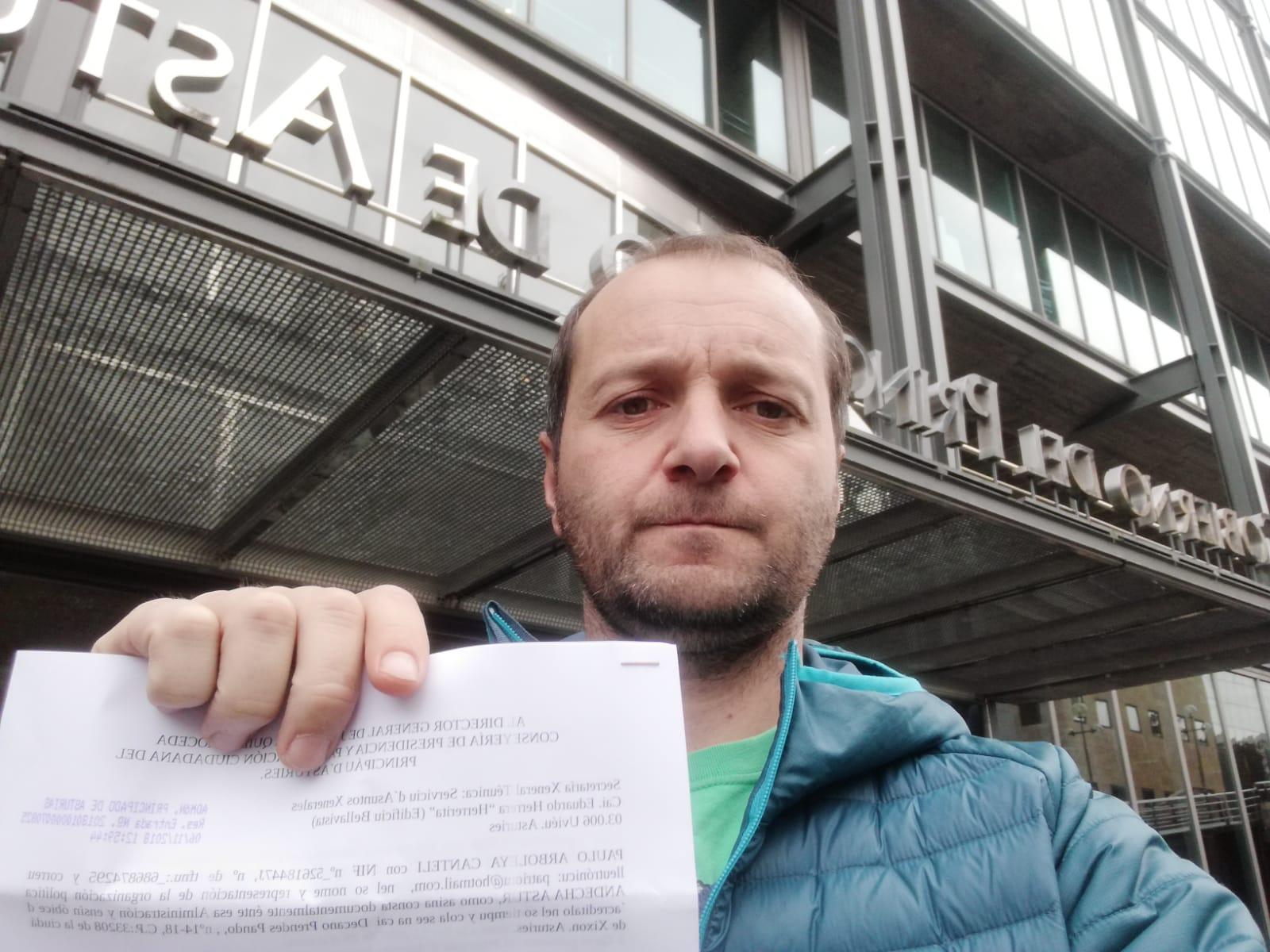 Andecha Astur lleva a fiscalía la ocultación de documentación d'inmatriculaciones de la ilesia católica