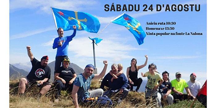 Comemoración en Tarna de la declaración de Soberanía de 1937