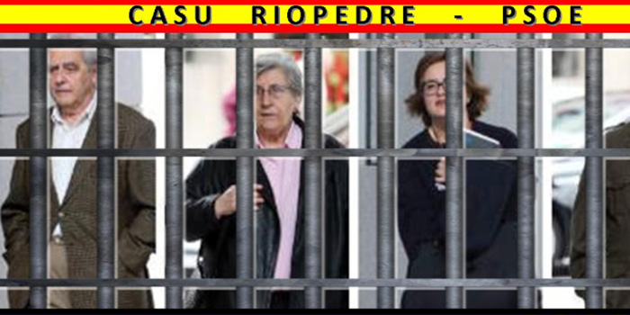 Casu Riopedre-PSOE ¡Falta Areces!