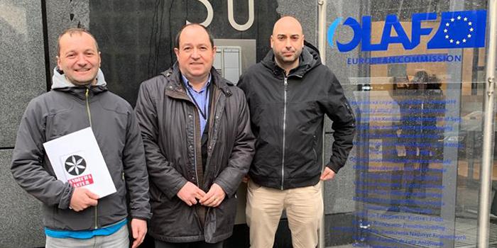 Presentada en Bruseles la denuncia a la UGT por fraude