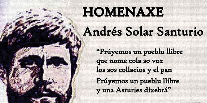 Homenaxe a Andrés Solar