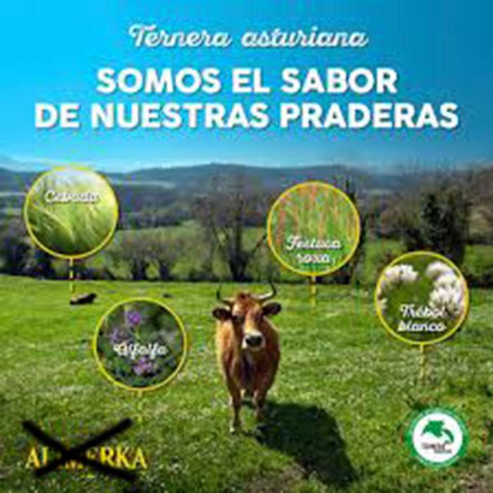Andecha Astur pide que se controle la venta carne n'Alimerka y un sofitu decidíu a la IXP Xata Asturiana