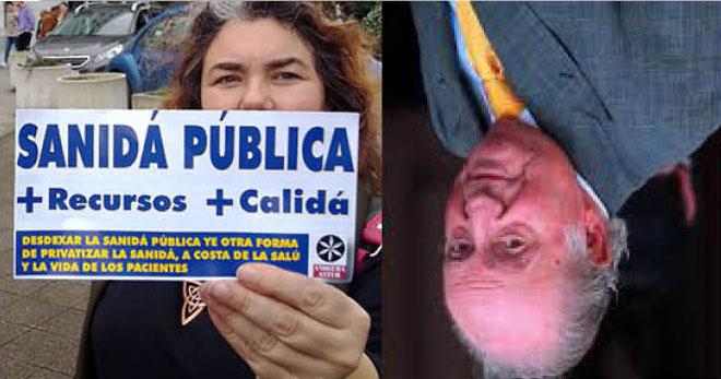 Andecha Astur lleva a Les Arriondes, y Cangues d'Onís la retirada de les cais Juan Carlos I