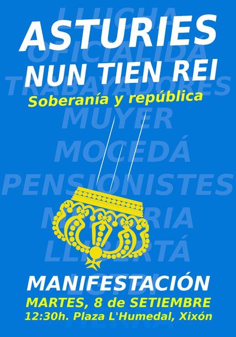 Soberanía y República nel Díi de la Nación Asturiana