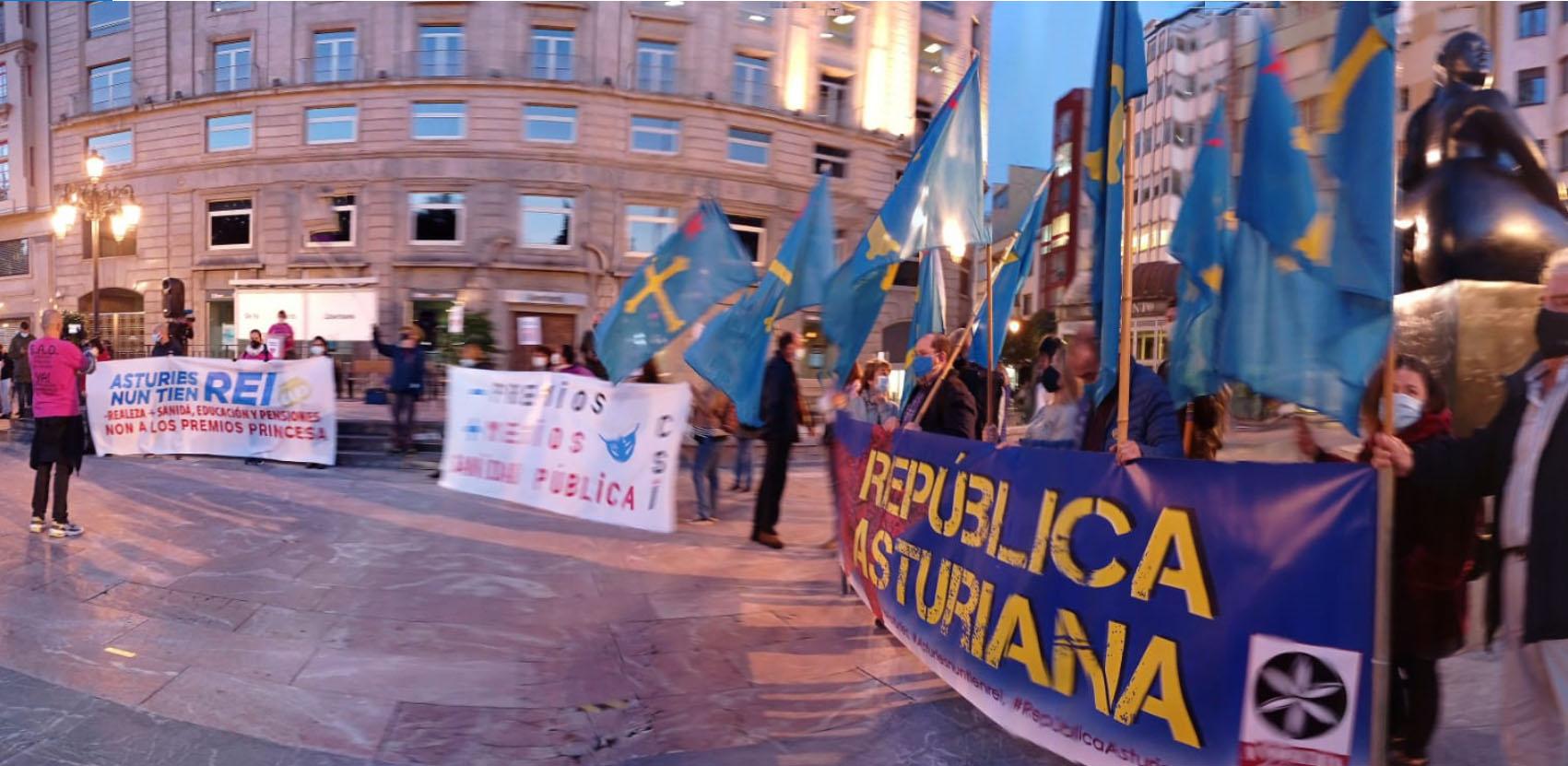 Intervención política Asturies Nun Tien Rei