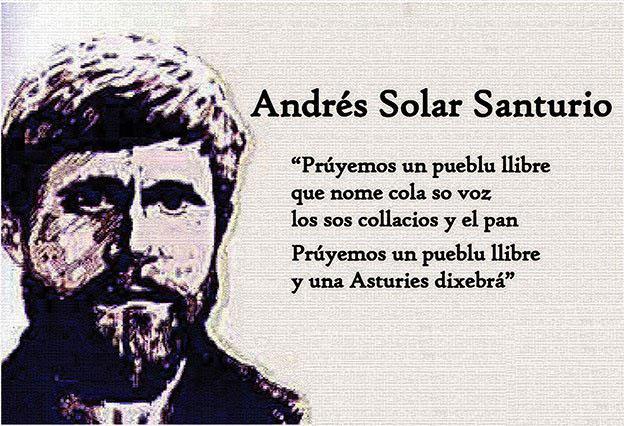 Andecha Astur propón a García Arias como candidatu a los Premios Andrés Solar