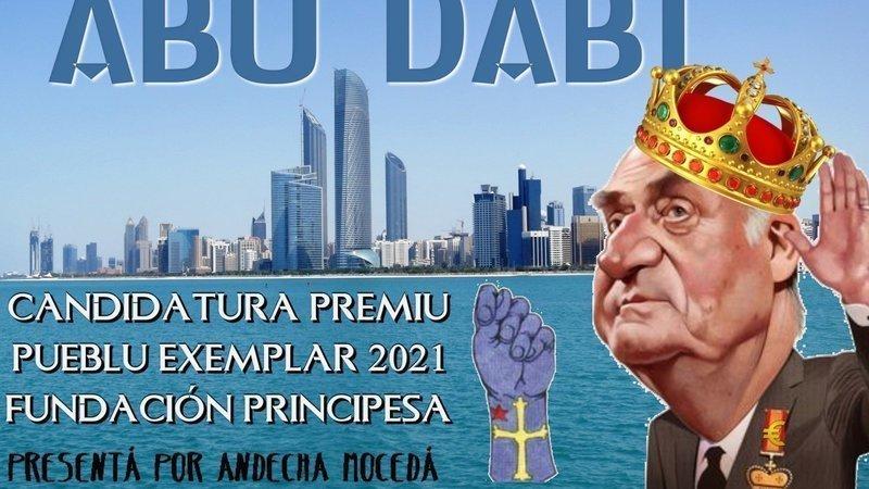 Andecha Mocedá presenta Abu Dabi como candidata a Pueblu Exemplar