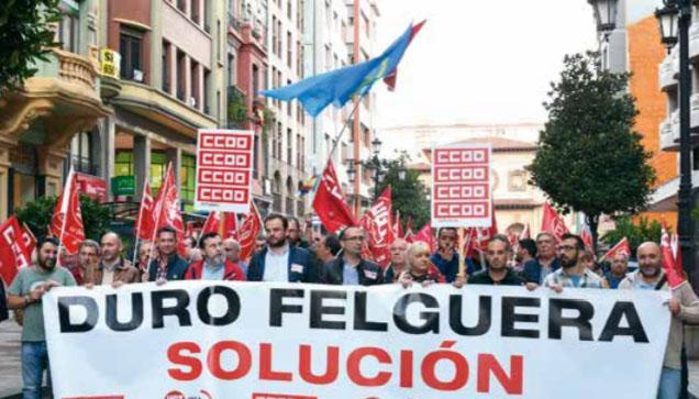Andecha Astur denuncia l'usu fondos públicos a favor de Duro Felguera