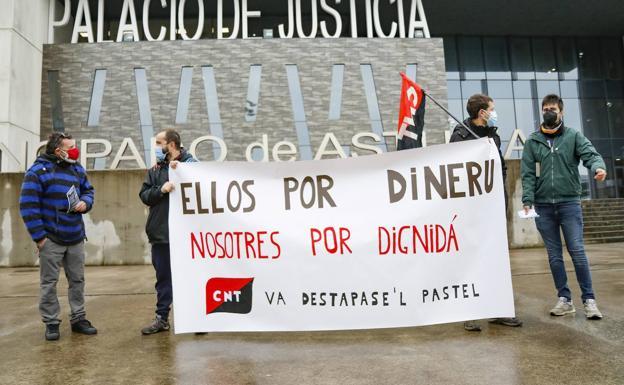 Andecha Astur solidarízase cola CNT nel casu La Suiza